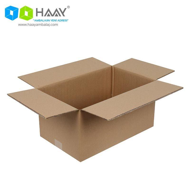 40x25x20 cm Çift Oluklu A-Box Koli