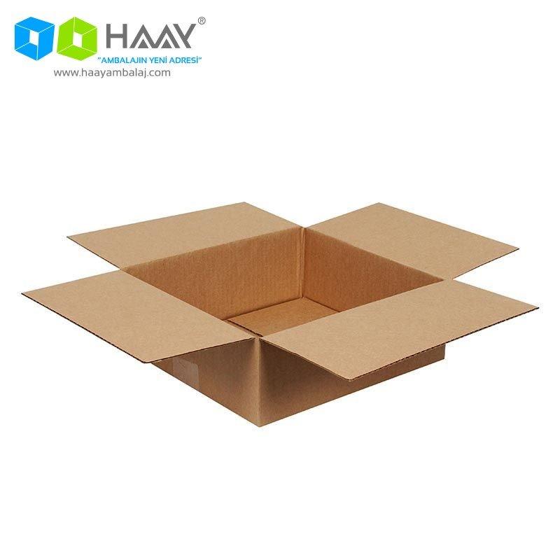 26,5x24,5x9,5 cm Tek Oluklu Kraft A-Box Koli