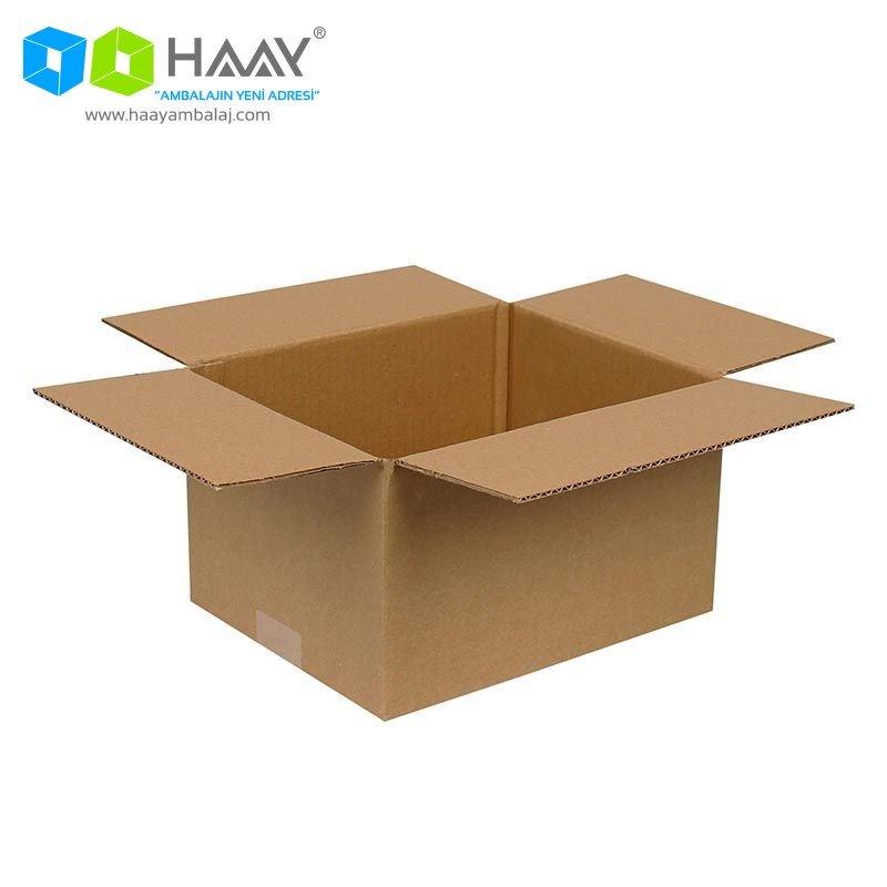 25x20x15 cm Tek Oluklu A-Box Koli