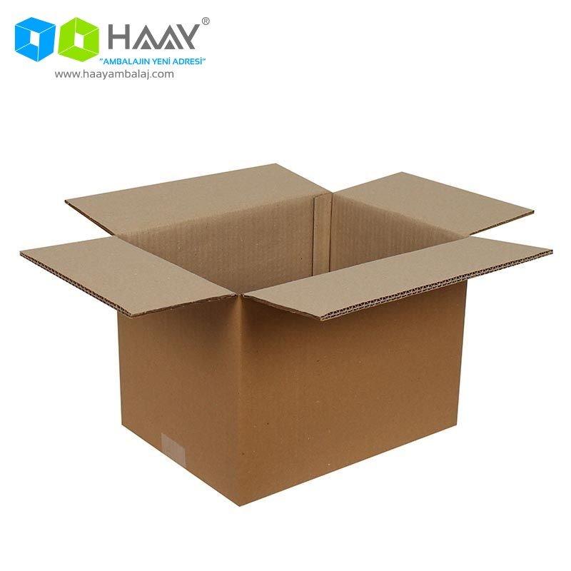 32x23x23 cm Çift Oluklu A-Box Koli