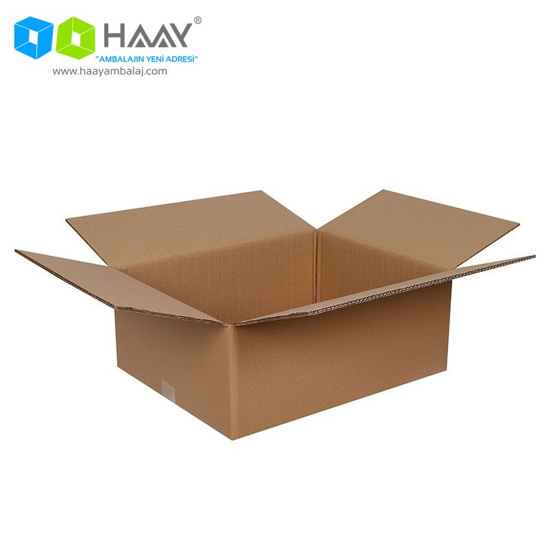 50x40x20 cm Çift Oluklu A-Box Koli - 508
