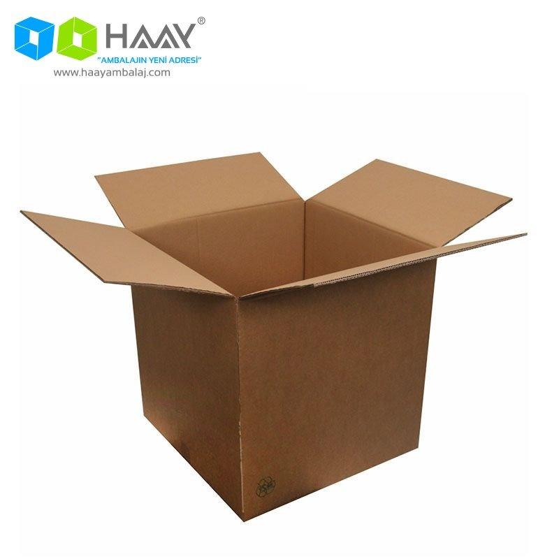 50x50x50 cm Çift Oluklu A-Box Koli