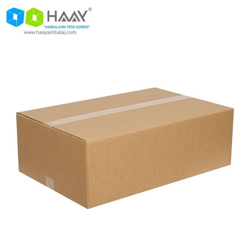 60x40x20 cm Çift Oluklu Kraft A-Box Koli - 517