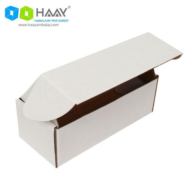 18x7,5x6 cm Beyaz Kilitli Kutu - 600