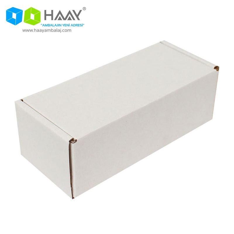 18x7,5x6 cm Beyaz Kilitli Kutu - 601