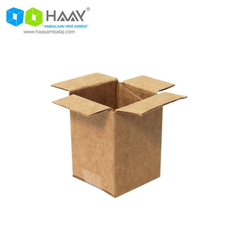 3x3x4 cm Tek Oluklu Kraft A-Box Koli