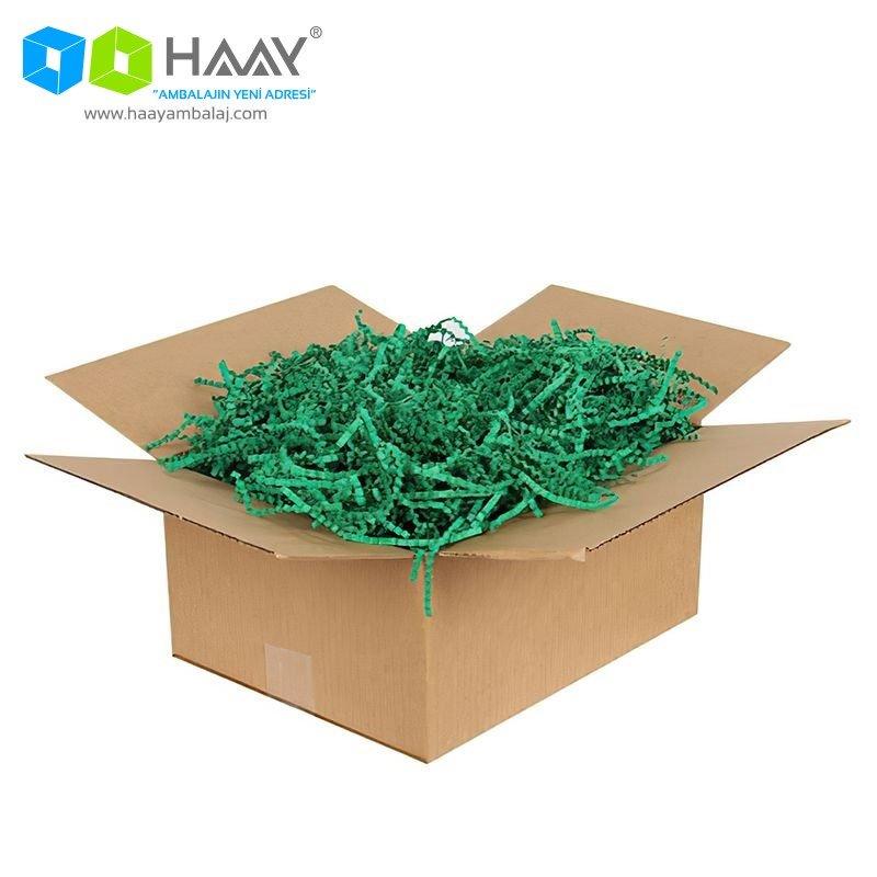 Zigzag Kağıt Dolgu Malzemesi (Çam Yeşili 250Gr)