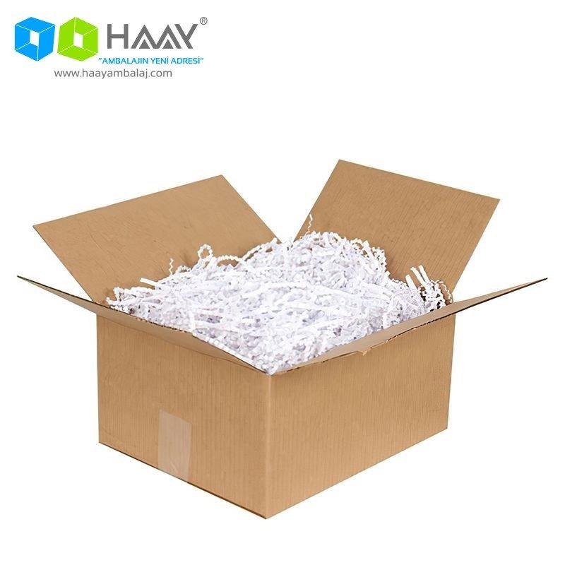 Zigzag Kağıt Dolgu Malzemesi (Beyaz 250Gr)