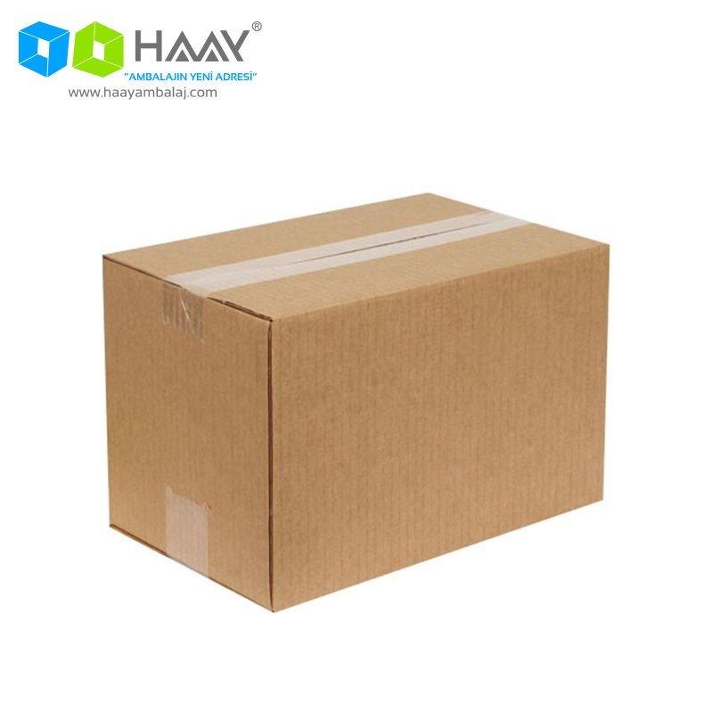 28x18x18 cm Tek Oluklu Kraft A-Box Koli - 652