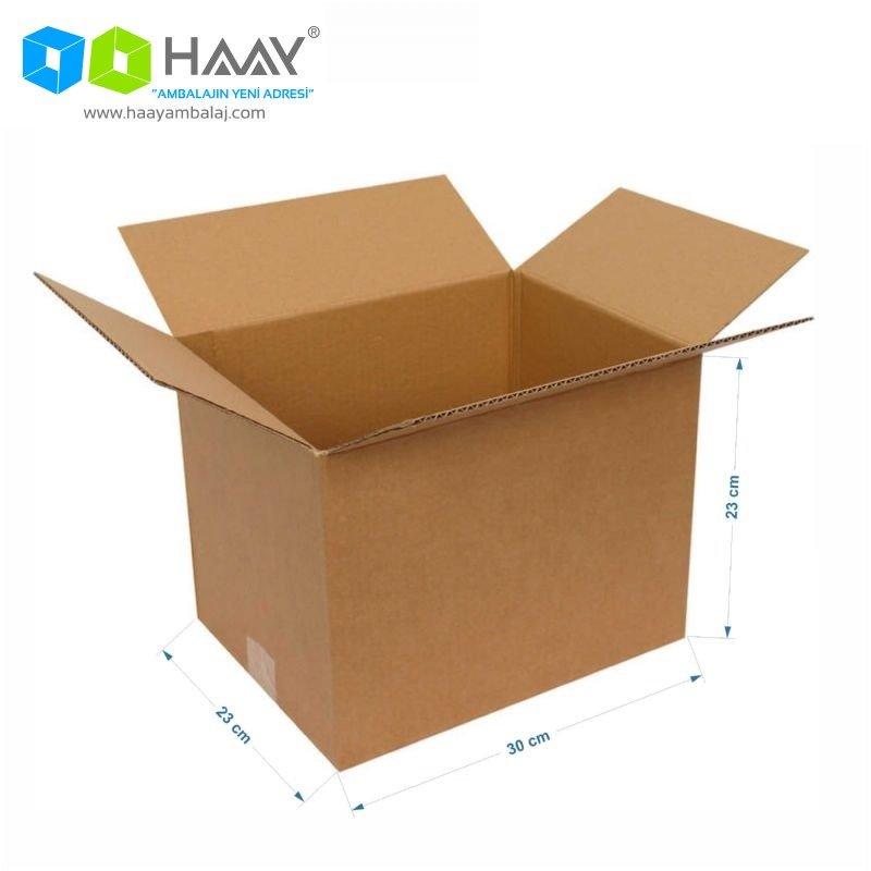 30x23x23 cm Çift Oluklu A-Box Koli