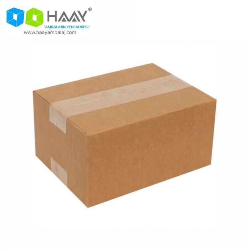 22x15x12 cm Tek Oluklu Kraft A-Box Koli - 662