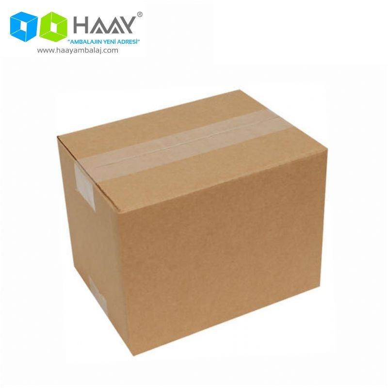 23x23x23 cm Tek Oluklu Kraft A-Box Koli - 669
