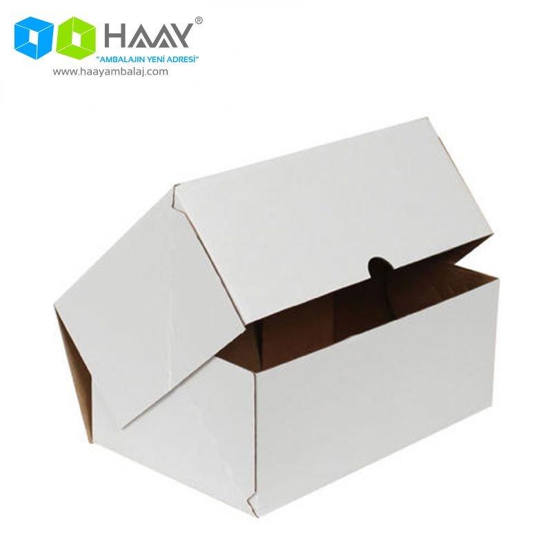 20x15x9 cm Beyaz Hazır E-Ticaret Kutusu - 676