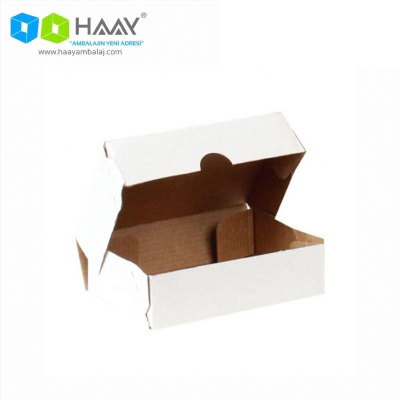 14x10x4 cm Beyaz E-Ticaret Kargo Kutusu (4 Nokta) - 707