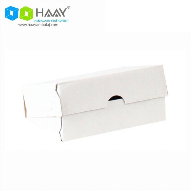 14x10x4 cm Beyaz E-Ticaret Kargo Kutusu (4 Nokta) - 706