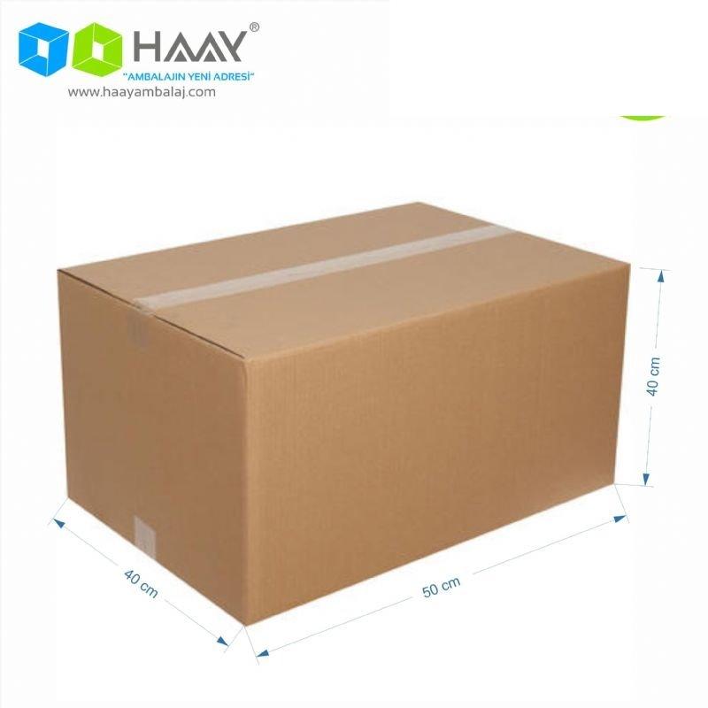 50x40x40 cm Çift Oluklu A-Box Koli