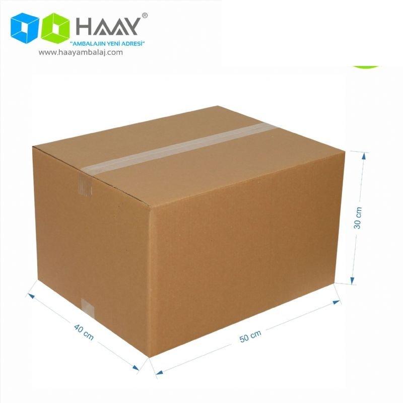 50x40x30 cm Çift Oluklu A-Box Koli