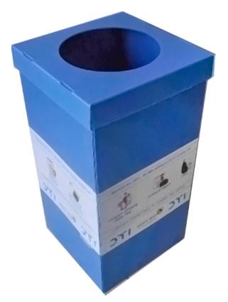 plastik atık kutusu
